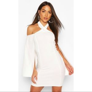 Brand new white boohoo dress